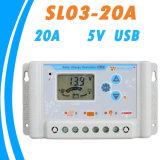 30A 12V/24V李Battery&USB-5Vの太陽充満調整装置SL03-30A
