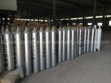 Cilindro de gás do aço sem emenda do argônio do nitrogênio do oxigênio