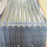 Plaque en acier ondulée galvanisée plongée chaude de paillette zéro