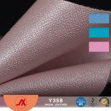 袋のための多彩なPVC真空パターン革ファブリック布