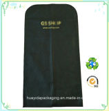 Bolso de empaquetado no tejido de encargo de la ropa de la ropa del bolso del juego de la impresión de la insignia