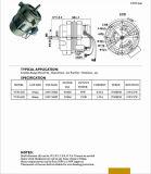 Gama de cozinha 1000-3000rpm monofásica de limpeza do capô do motor do ventilador permanente