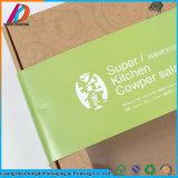 Le papier d'emballage remplaçable emportent la boîte à nourriture avec le guichet pour Sala ou sushi