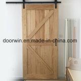 Meilleure offre de prix de l'intérieur de porte coulissante décoratifs Double porte de grange