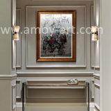 壁の装飾のためのハンドメイドによる大きいキャンバスの芸術の概要の油絵