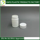 50мл пластмассовые HDPE таблетки бачок с пластиковой крышкой