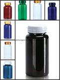 Бутылки оптового белого любимчика 150ml пластичные для упаковывать микстуры
