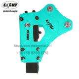 掘削機または油圧ハンマーのための側面のタイプ小型油圧ブレーカ