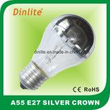 Раскаленный добела серебряный свет кроны A55