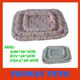 Barato y el confort suave terciopelo Coral camas para perros y gatos (WY161047-2A/C)
