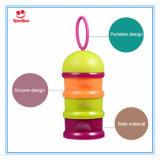 Drei Schicht-Baby-Milch-Puder-Nahrungsmittelvorratsbehälter/Imbiss-Cup