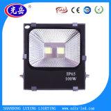 Bridgelux 방수 IP65 옥외 높은 루멘 옥수수 속 100W LED 플러드 빛