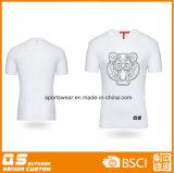 T-shirt en bonne santé estampé de la mode des hommes