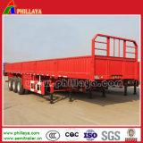 3 Utilitário do eixo do carro de transporte de carga a granel semi-reboques com Parede Lateral