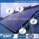 Pavillon Toit du crochet de montage sur panneau solaires PV le rail en aluminium