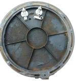 De anti-diefstal D400 Samengestelde Dekking van het Mangat met Scharnier en Slot