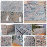 Baumaterial-Wand deckt Mutil-Roten Juprana Granit mit Ziegeln