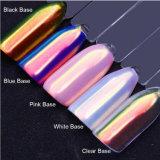 Polvere al neon dell'unicorno di effetto dello specchio del pigmento di scintillio del chiodo della polvere di effetto dell'aurora di elevata purezza per arte del chiodo