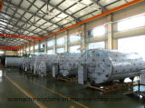 Tanque horizontal quente refrigerar de leite para a fábrica do alimento (ACE-ZNLG-1003)