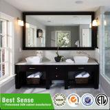 Gabinete de banheiro gama alta da madeira contínua da grande habilidade