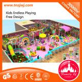 Parque Infantil de diversões Brinquedos Estrutura suave playground coberto