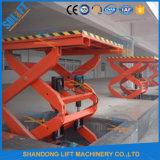 Levage hydraulique de ciseaux d'homologation de la CE