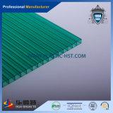 Hoja hueco transparente transparente de la venta caliente de la PC (tres capas)