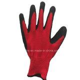 Покрытие из латекса Black-Red рабочие перчатки