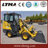 De Compacte die Lader van de Lader van het Wiel van Ltma 0.8t in China wordt gemaakt
