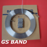 3/4 pol., 304 aço inoxidável de bandas de cintagem de precisão