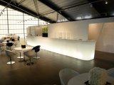 Barre modulaire droite en plastique de la combinaison DEL de meubles de salon