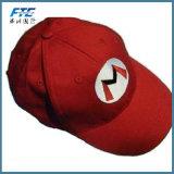 Tipo de tampa de desportos boné e tecido comum apresentam bordados personalizados