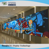 La publicité pleine couleur intérieure de P3 mur vidéo LED pour installation fixe