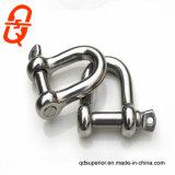ステンレス鋼のヨーロッパのタイプ弓D手錠304/316