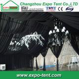 Chapiteau bon marché extérieur d'écran de tente de mariage avec le revêtement en PVC Blanc