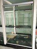 Vidro da porta do chuveiro (alumínio SD-300 branco)