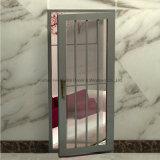 Porte en aluminium en verre isolante de tissu pour rideaux de prix usine double