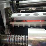 ステッカーのペーパーのための高速自動切り開き、巻き戻す機械