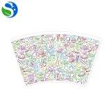 Ventilatore stampato di vendita caldo/manicotto della tazza di carta del caffè della parete dell'ondulazione