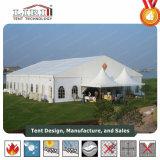 방수 백색 PVC 직물 지붕을%s 가진 움직일 수 있는 결혼식 천막