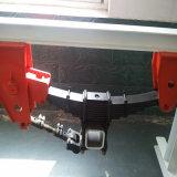Una sospensione meccanica di tipo americano dei 3 assi