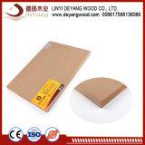 precio de fábrica de madera contrachapada de placa de MDF melamina para mobiliario de madera