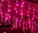 Luces del carámbano de la decoración del partido y del día de fiesta del LED para la decoración del jardín