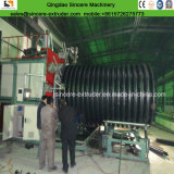 Macchina ondulata di fabbricazione del tubo di spirale doppia dell'HDPE