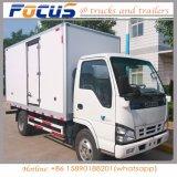 LHD 4X2 Refrigerator Freezer Van Refrigerated 5tons Isuzu Truck