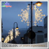 Lampadaires colorés en plein air LED Christmas Holiday Street Pole Lights