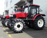 Landbouw Machine 4WD Tractor met Cabin