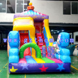 La princesse Transport Inflatable Bouncer des diapositives