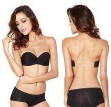 熱い方法最新のデザイン裸体か黒くセクシーなブラのストラップレスのブラ