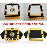 La vendita calda personalizza l'abitudine 100% del ricamo dei capretti delle donne del Mens del pullover di formato del taglio di Goalit di Bruins di Boston tutto il nome qualunque pullover del hokey di ghiaccio di no.